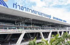 An Irishman has died at a Bangkok airport