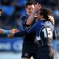 Isa Nacewa and the moment Shane Horgan made him feel part of the Leinster family