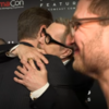 The moment Colin Farrell bumped into Gary Oldman for the first time is adorable