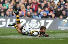Watch: Willie Le Roux drops the ball as he dives over the try line against Leinster