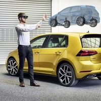 How Volkswagen is developing the car of the future virtually using HoloLens