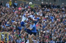 Jack McCaffrey's stoppage-time goal sends Dublin past brave Monaghan and into league final