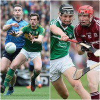 Here's this year's football league final and hurling semi-final pairings