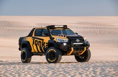 Toyota has made an actual full-size Tonka Truck