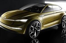 Here is Skoda's first fully-electric car (well, concept car anyway)