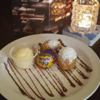 Finally, deep fried Creme Eggs have made their way to Dublin