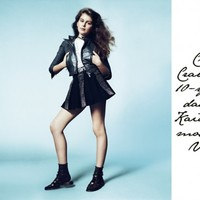Spot the difference: Cindy Crawford's daughter takes up modelling