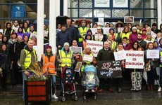 'I'm here today to stand up for my son': Hundreds turn out across the country calling for better children supports