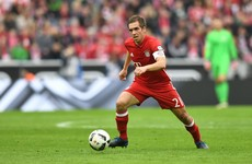 Firm apologises as April fool joke annoys Philipp Lahm