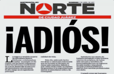 Mexican paper where murdered reporter worked closes over lack of security