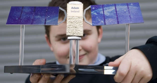 €670m satellite to be named after Swords boy Adam, 10