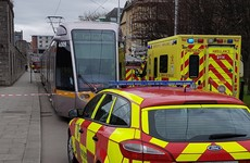 Luas red line reopens after person injured in incident near Heuston Station