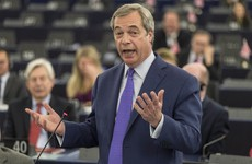 'You're behaving like the mafia... no, gangsters': Nigel Farage takes aim at EU