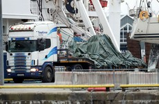 Wreckage of Rescue 116 brought ashore