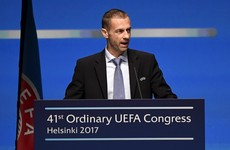 Uefa boss vows to fight 'blackmail' over Champions League