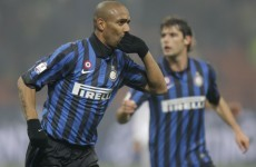 That's a bit special: Maicon hits a wonder strike
