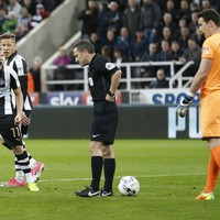 Mayhem at St James' Park as referee rules out Newcastle penalty and no one seems to know why