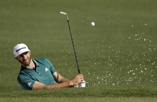 DJ disaster: Johnson in doubt for Masters after falling down stairs