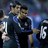 Ronaldo and Bale absent but Madrid still prevail in six-goal thriller