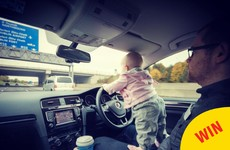 A little Dublin toddler Photoshopped into dangerous situations by her dad has taken over Reddit