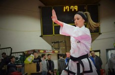 The Trinity student who's a world champion in taekwondo