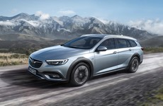 The Opel Insignia Country Tourer is a rugged estate aiming to take on the Audi A6