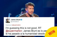 A complete collection of James Blunt's best comebacks on Twitter