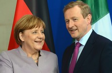 'Come in, I missed you' - Merkel gives Kenny Brexit boost in Berlin meeting