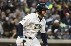 Tim Tebow hits a home run in his first minor league at-bat
