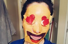 Emoji face masks are a (slightly terrifying) thing - here's how to get them in Ireland