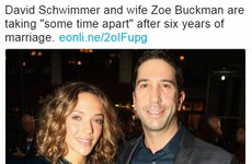 Everyone is making the same Friends joke about this David Schwimmer headline