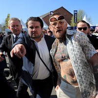 Conor McGregor's at the Grand National and... well, just look at him!
