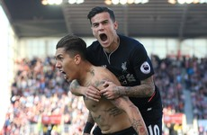 Liverpool super-subs Coutinho and Firmino turn Stoke game on its head