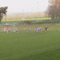 Believe it when you see it! UCD keeper scores equalising bicycle-kick in injury-time