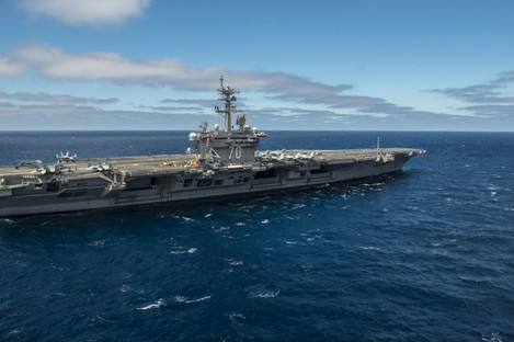 File photo of USS Carl Vinson.