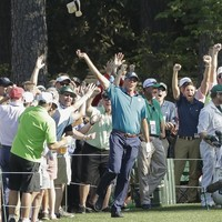 Sweet 16! Matt Kuchar conjured a moment to remember during his final round at Augusta