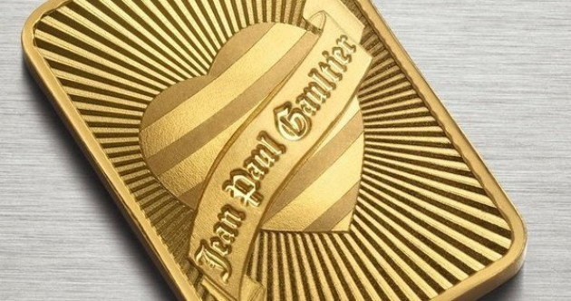 Stuck for a Valentine's gift? How about a gold bar designed by Gaultier?