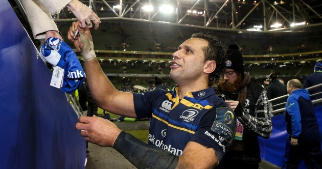 Nacewa continues to defy age as his worth to Leinster on and off the field becomes invaluable