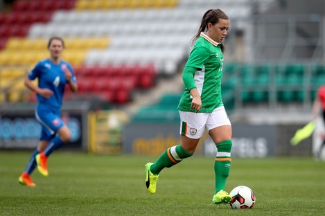 McCabe was one of Ireland's stand-out performers today.
