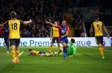 Nightmare for Wenger as Crystal Palace thump hapless Arsenal