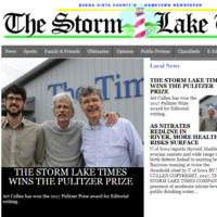 This tiny, family-run newspaper in Iowa just won a Pulitzer Prize