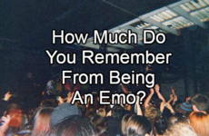 How Much Do You Remember From Being An Emo?