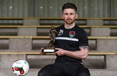 Maguire flattered by Ireland reports as he scoops player of the month award
