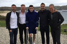 Everton boss Koeman and club captain pay recovering Coleman a visit in Donegal