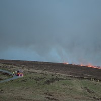 Dublin Mountains gorse fire sparks warning for people during dry weather