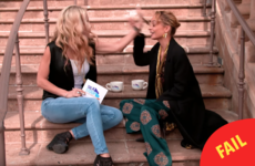 This talk show host tried to give Nicole Richie a high five, but instead slapped her in the face