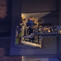 11 people rescued from Tallaght apartment fire