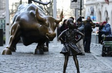 Wall St bull versus Fearless Girl: The original sculptor isn't happy about the new girl in town