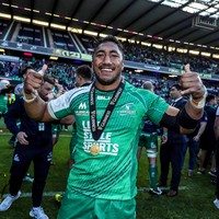 Bundee Aki called up to Barbarians squad to face England and Ulster