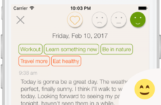 Use your phone to journal - and improve your day